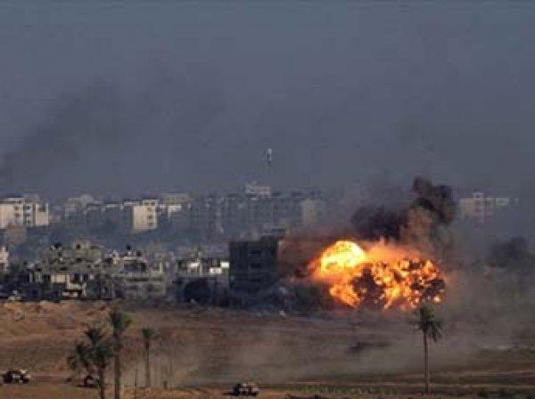 Обнародовано видео мощного авиаудара Израиля по Сектору Газа
