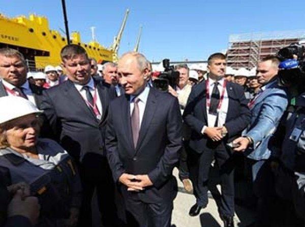 """""""Я знаю: в крае средняя — 40"""": Кремль удалил с сайта разговор Путина с рабочими о зарплатах"""