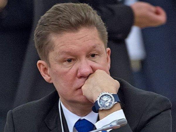 "Глава ""Газпрома"" попал в ДТП"