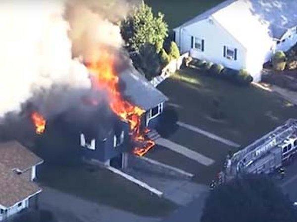 В США произошли взрывы и пожары в 80 домах: один человек погиб и 25 человек