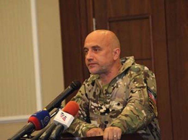 """СМИ: в ДНР """"разоружили"""" батальон Прилепина, командир задержан"""