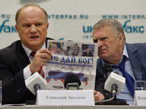 СМИ: Кремль накажет ЛДПР и КПРФ за победу на выборах