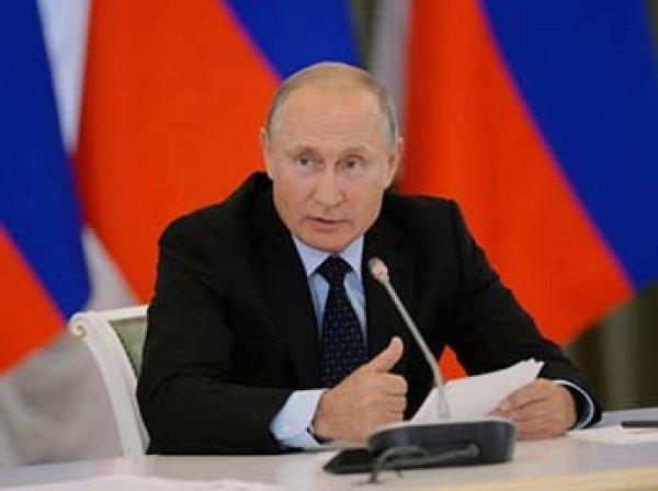 Путин призвал сократить срок выплаты пособий по безработице
