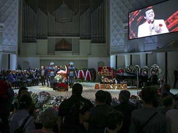 Похороны Иосифа Кобзона: онлайн трансляция ведется в Сети 2 сентября (ВИДЕО)
