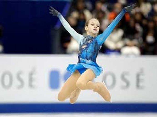 14-летняя россиянка впервые в истории исполнила три четверных прыжка