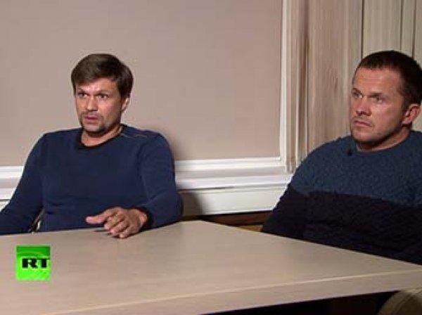 """Экс-сотрудник ГРУ рассказал, на кого работали  """"отравители"""" Скрипалей Петров и Боширов"""