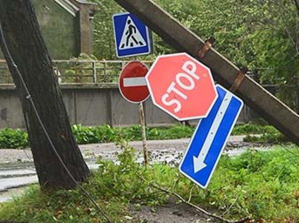 "Тайфун ""Джеби"" оставил без света 15 населенных пунктов на Сахалине"