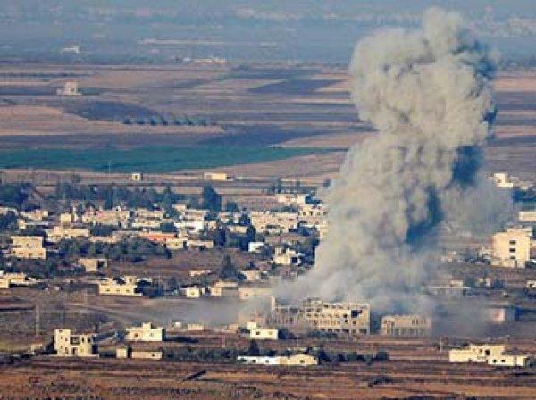 Опубликовано видео авиаудара ВВС Израиля по Сирии