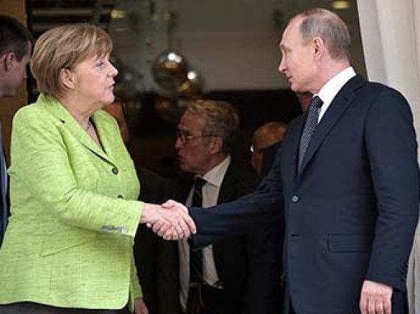 Меркель впервые поддержала российскую военную кампанию в Сирии