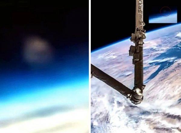 Нибиру разглядели в отражении скафандра астронавта NASA (ФОТО)