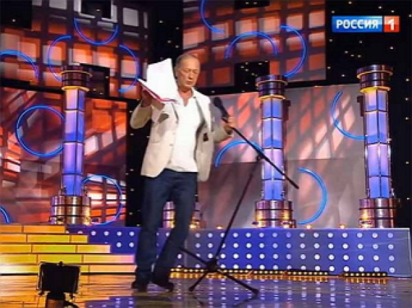 Обнародованы кадры с последнего концерта Задорнова, где ему стало плохо на сцене