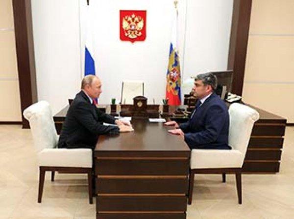 Путин сменил глав Астраханской области и КБР