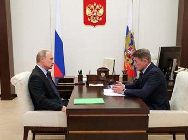 СМИ: Путин увольняет губернаторов и назначает на их место однофамильцев