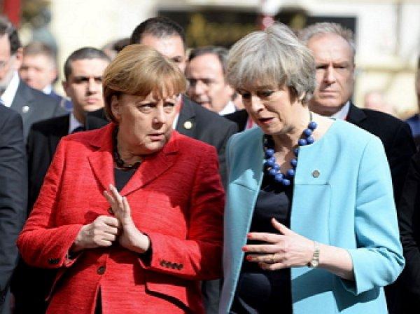 Меркель публично унизила Мэй: опубликовано видео