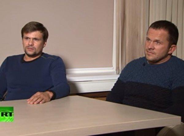 """""""А вы точно не сотрудники спецслужб? Так точно!"""": интервью Петрова и Баширова разобрали на мемы"""