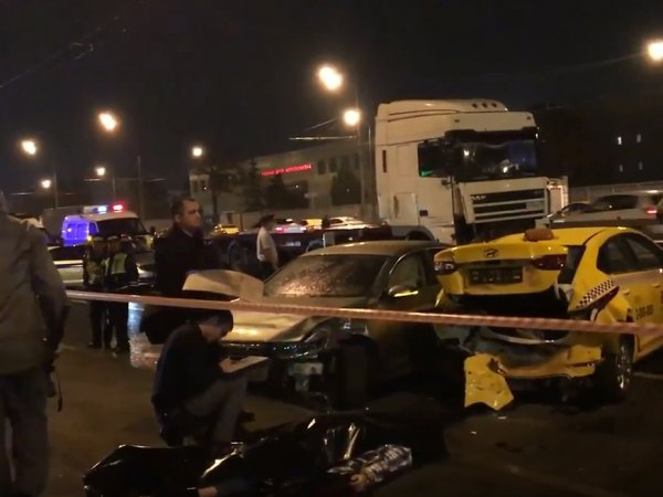 Авария на Варшавском шоссе сегодня 11 сентября: фура протаранила 7 машин, есть жертвы (ВИДЕО)