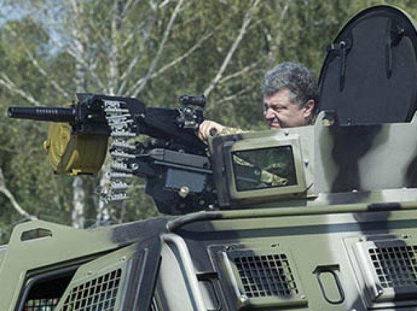 """""""Нет денег на краску и шаровары?"""": восхитившегося видео с украинскими танками Порошенко подняли на смех"""