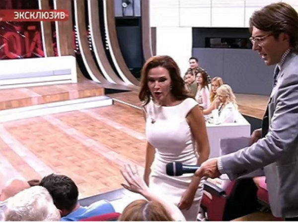 """Беременная Бледанс устроила драку на ток-шоу """"Прямой эфир"""""""