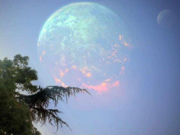 """Нибиру уже здесь?"": жители Новокузнецка засняли на фото планету Х"
