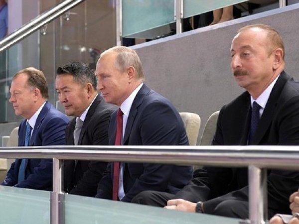 Российские дзюдоисты опозорились перед Путиным