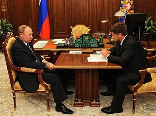 Путин передал Чечне нефтяную компанию по просьбе Кадырова