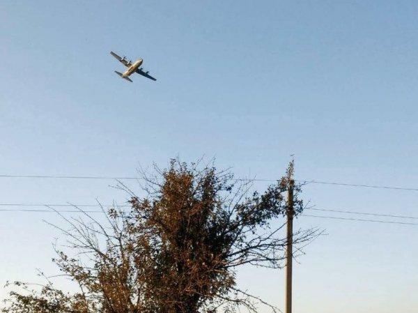 Опубликовано видео с места крушения Су-27 на Украине, в котором погиб военный из США