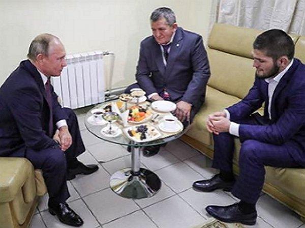 """""""Главную задачу решил"""": Путин поздравил Нурмагомедова с победой над Макгрегором"""