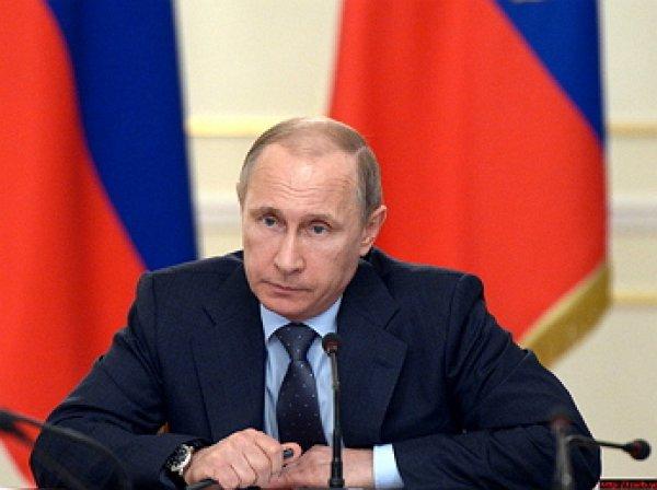 Путин подписал закон о контрсанкциях в отношении Украины