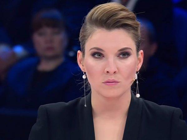 """Ведущая """"России 1"""" в прямом эфире назвала гостя """"идиотом"""" и попыталась выгнать его из студии"""