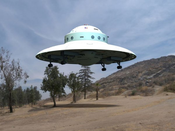 """В США на пляже нашли """"обломок НЛО"""""""