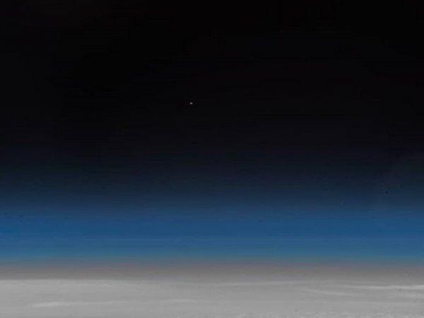 "Аварию ""Союза"" засняли на фото из космоса"