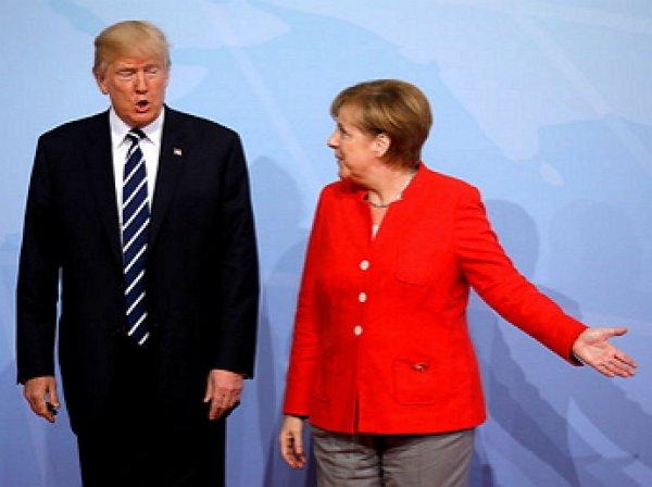 Меркель готова поддержать импорт газа из США