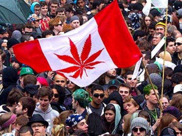 Канада второй в мире легализовала марихуану