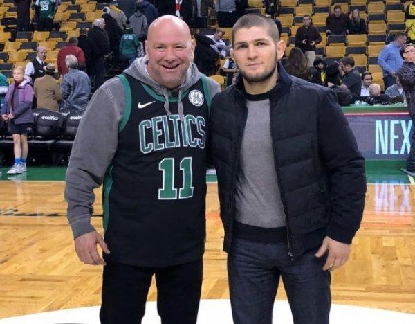 """""""Я знаю, где ты паркуешься"""": глава UFC получил угрозу от Нурмагомедова в соцсети"""