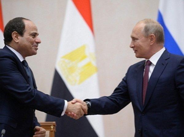 Россия возобновляет авиасообщение с Египтом