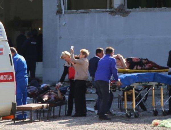 """Министр Скворцова: """"начинка"""" бомбы, взорванной в Керчи, была инфицирована"""