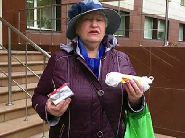 В Сибири пенсионерка передала министру подарки – веревку и мыло