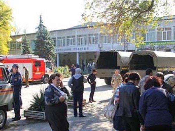 Опубликовано видео взрыва и выстрелов внутри колледжа в Керчи