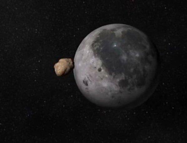 Метеорит с Нибиру протаранил Луну, попав на видео. Земля - на очереди