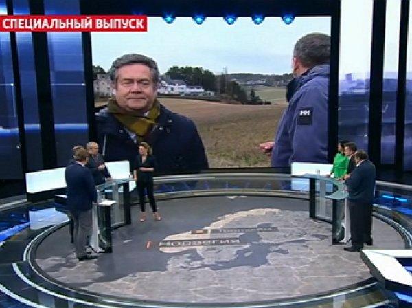 Клинцевич в прямом эфире вцепился за бороду украинского эксперта