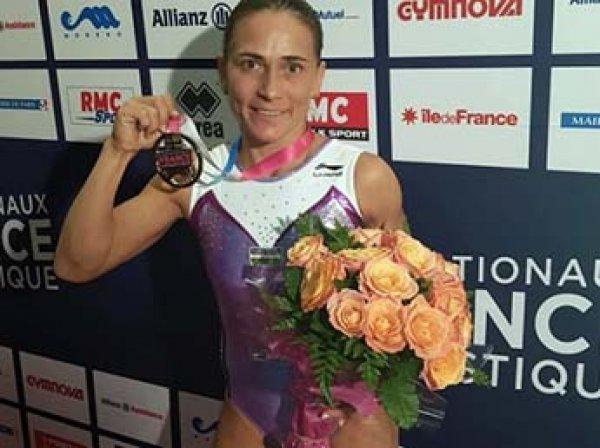43-летняя гимнастка завоевала золото на Кубке мира в Париже