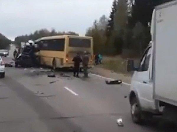Авария с маршруткой в Тверской области 5 октября унесла жизни 13 человек: опубликовано видео с места ЧП