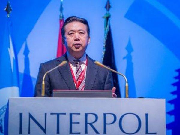 СМИ: в Китае пропал глава Интерпола