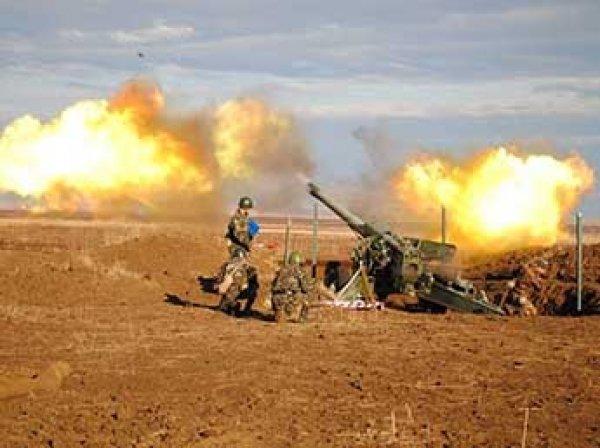 Порошенко дал приказ военным стрелять на Донбассе из всего имеющегося оружия