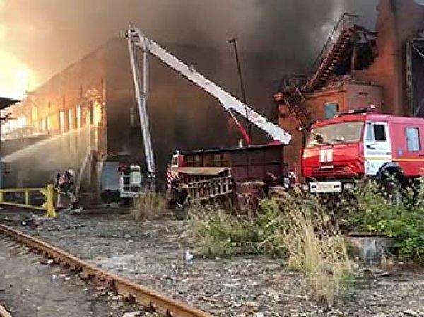 Загорелся крупнейший завод Осетии, погиб сотрудник МЧС