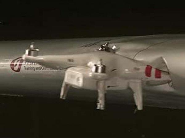 В США впервые беспилотник протаранил самолет