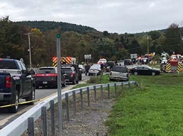 Под Нью-Йорком 20 человек погибли в ДТП со свадебным лимузином