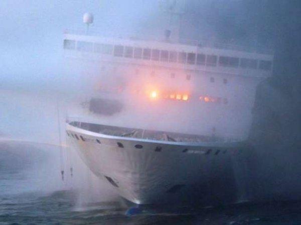 СМИ: в Балтийском море взорвался паром с 335 пассажирами