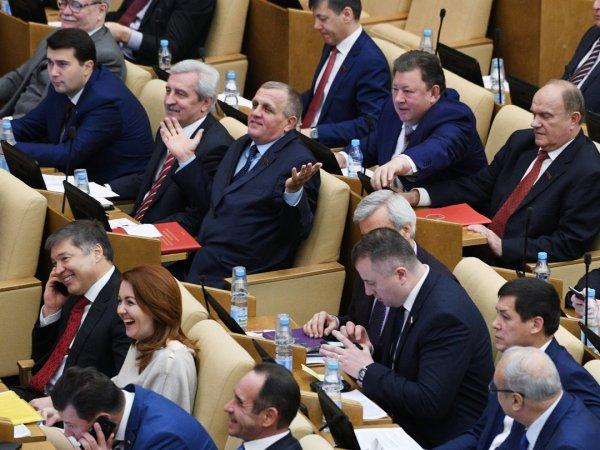 СМИ узнали, сколько депутатов готовы отказаться от пенсионной надбавки
