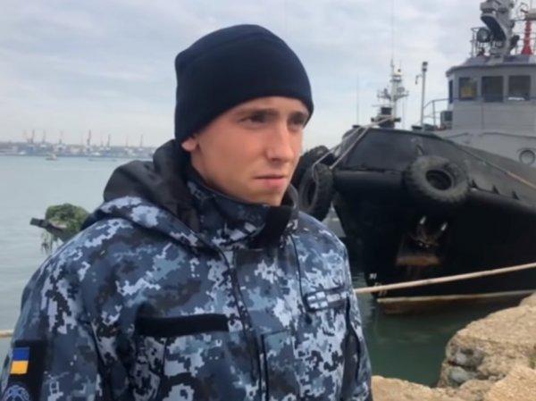 Опубликовано видео допроса украинских моряков: один из задержанных признался в провокации